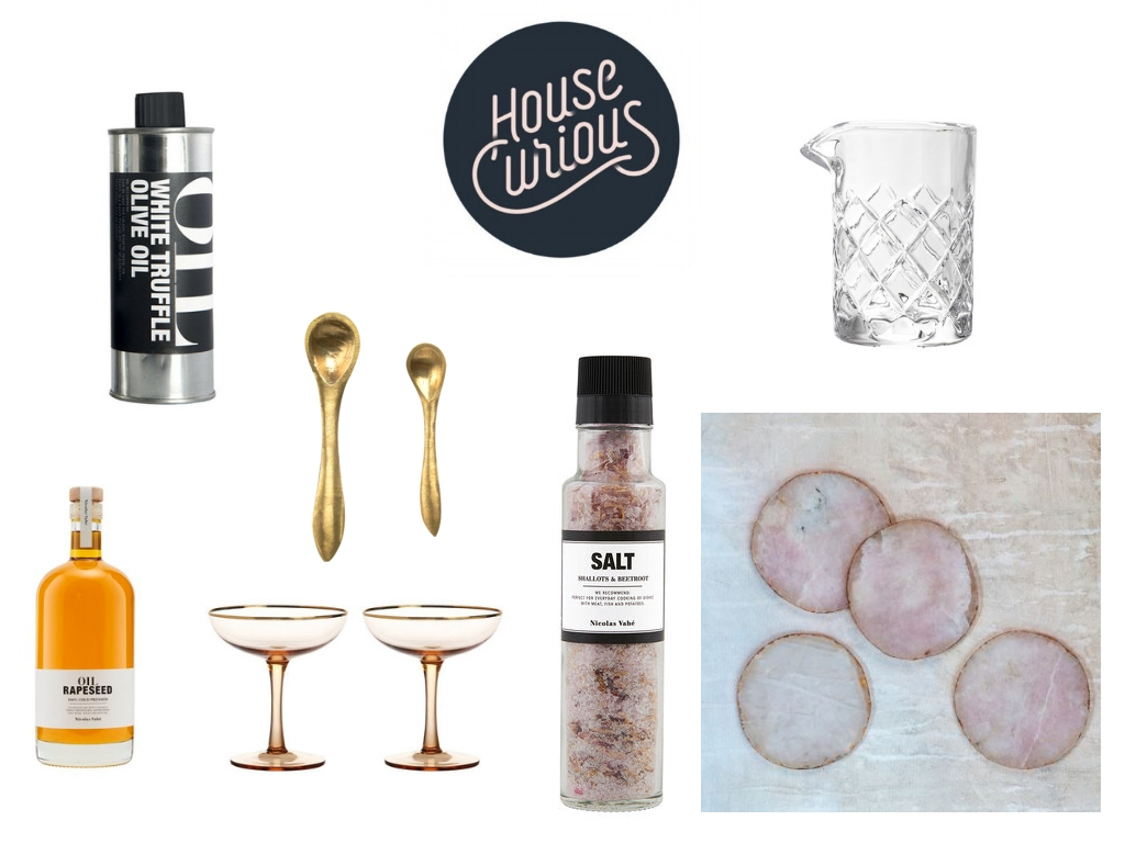 All items available from the House Curious website via  Kitchen Accessories  and  The Pantry
