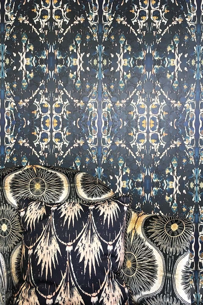 Siouxsie wallpaper by  Anna Hayman Designs