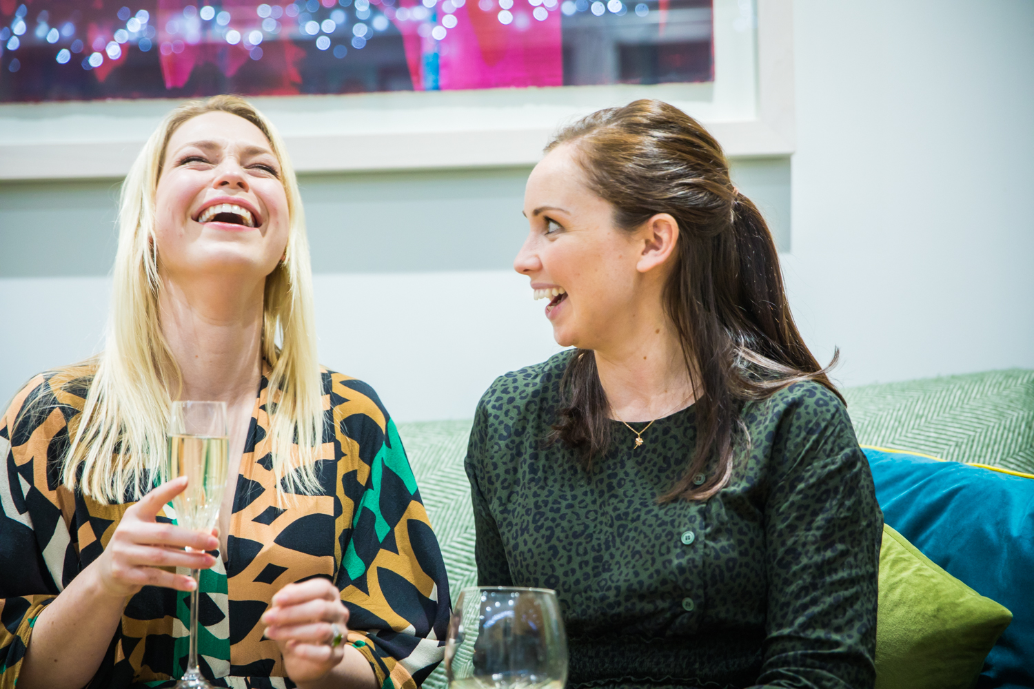 Charlotte and Vicky and curate the most amazing guest list and menu in their Supper Clubs for creative entrepreneurs.