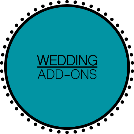 Wedding Add-Ons
