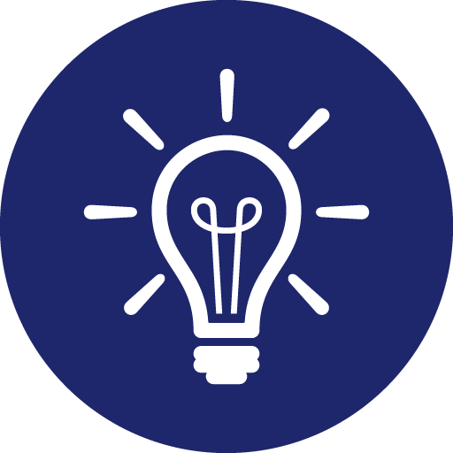 Icon of lightbulb