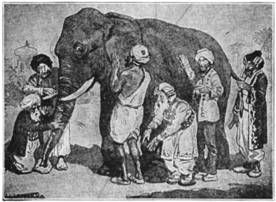 Pic:https://wildequus.org/2014/05/07/sufi-story-blind-men-elephant/