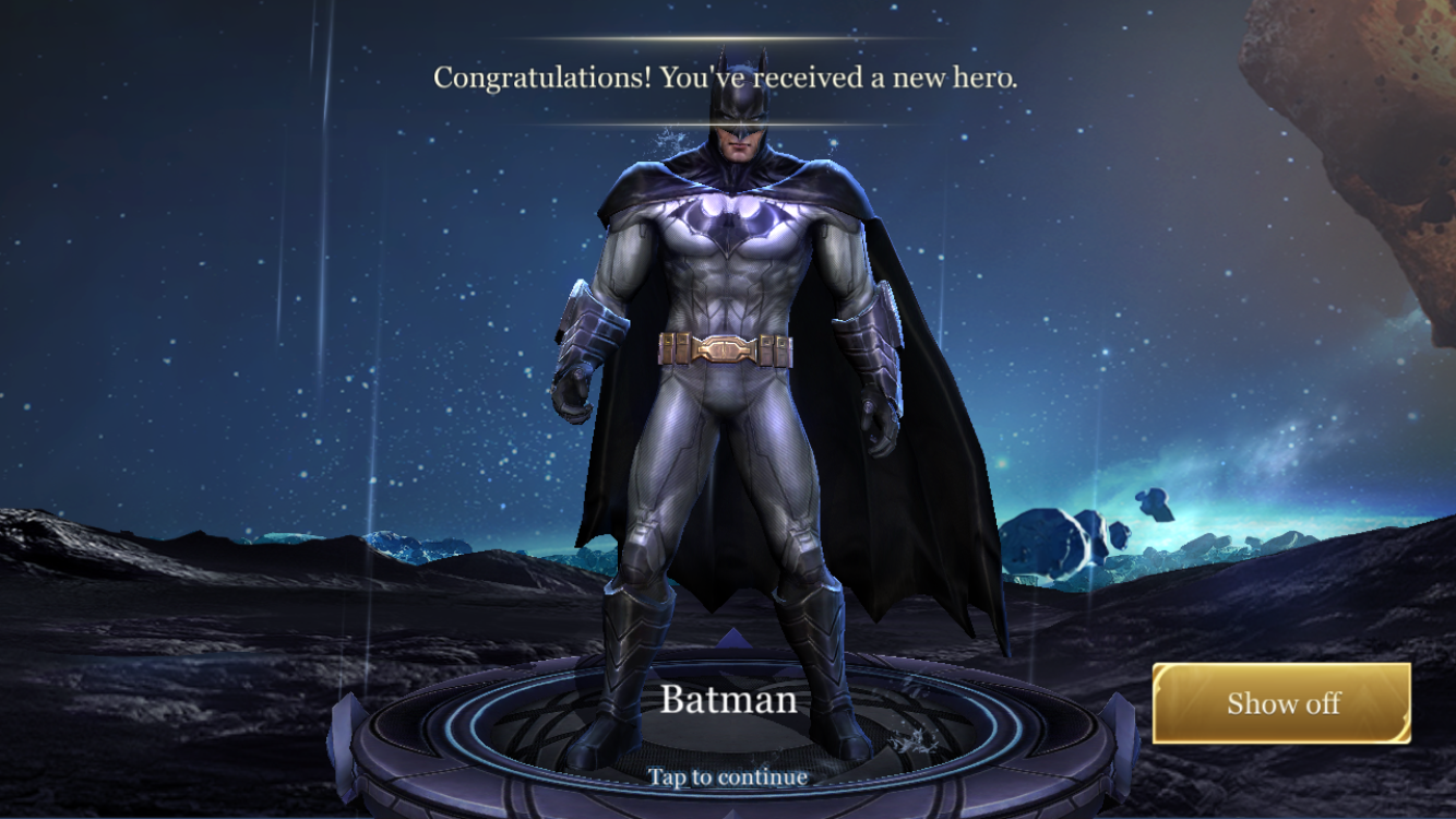 Arena of Valor is introducing a range of licenced characters into the game starting with Batman. The Chinese version has many characters from several different licences that could also come over to the Western version.