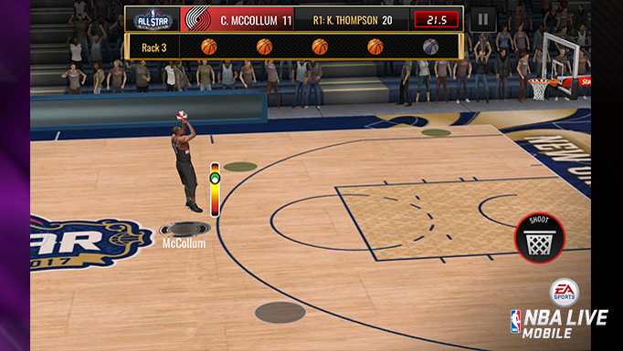 3-Point Shooting Contest was a new event mechanic introduced as part of All-Star Weekend game content
