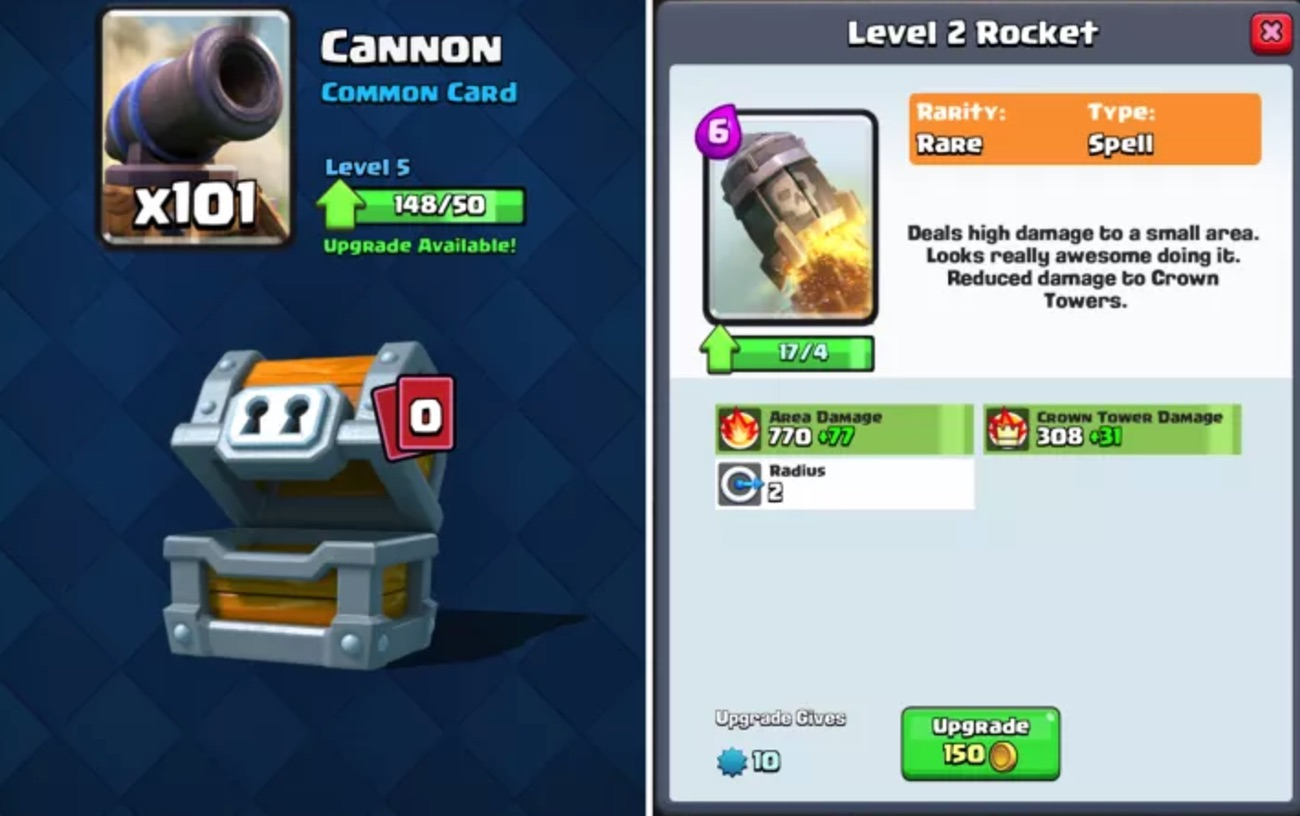 Unlike Brawl Stars, Clash Royale has created a progression mechanic that drives significant value from its duplicates.