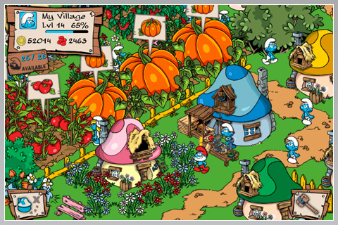 ^ 2010's Smurfs Village was the first Free to Play games on mobile to reach the top-grossing position in the USA. Such was this game's impact that Apple had to change their IAP flow to create an option to ask people to put their password in for every purchase made.