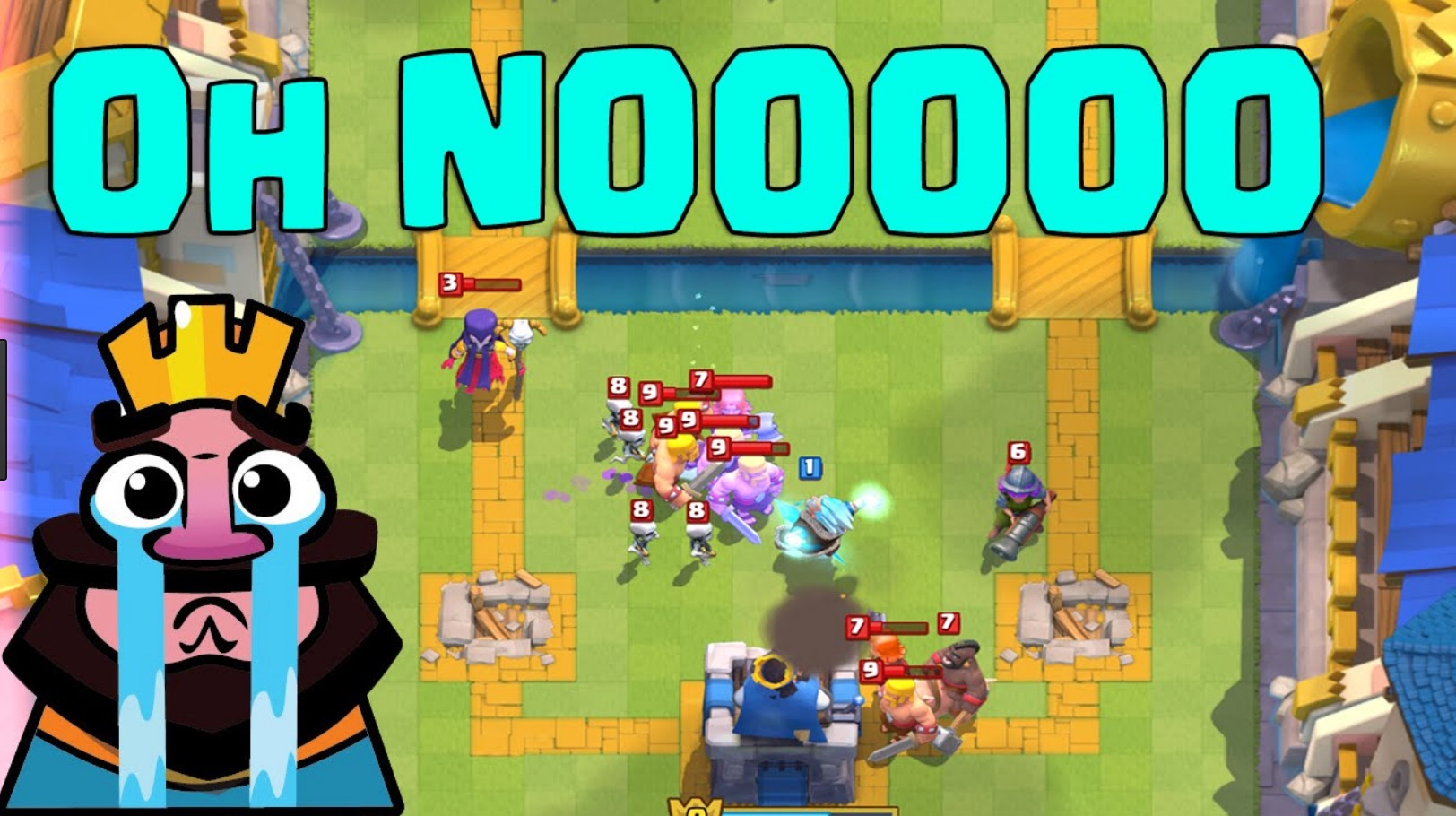 In Clash Royale, you'll lose a lot, sometimes to people who clearly have dumped $100s more than you have into the game. And that's okay, because they'll move up out of your league so you don't have to play them anymore.