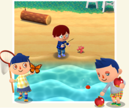 Catching Fish, Collecting Fruit and hunting bugs are just some of the actions you need to complete in Animal Crossing in order to collect items and craft furniture.