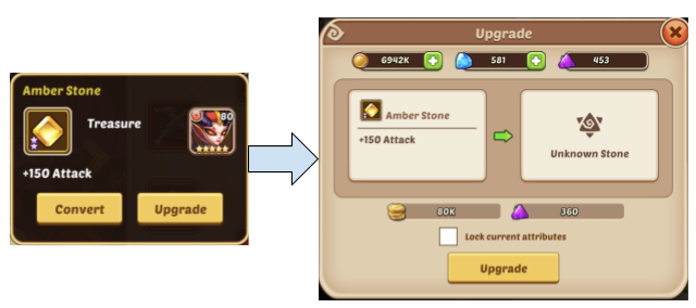 Overview of the Stone upgrade flow