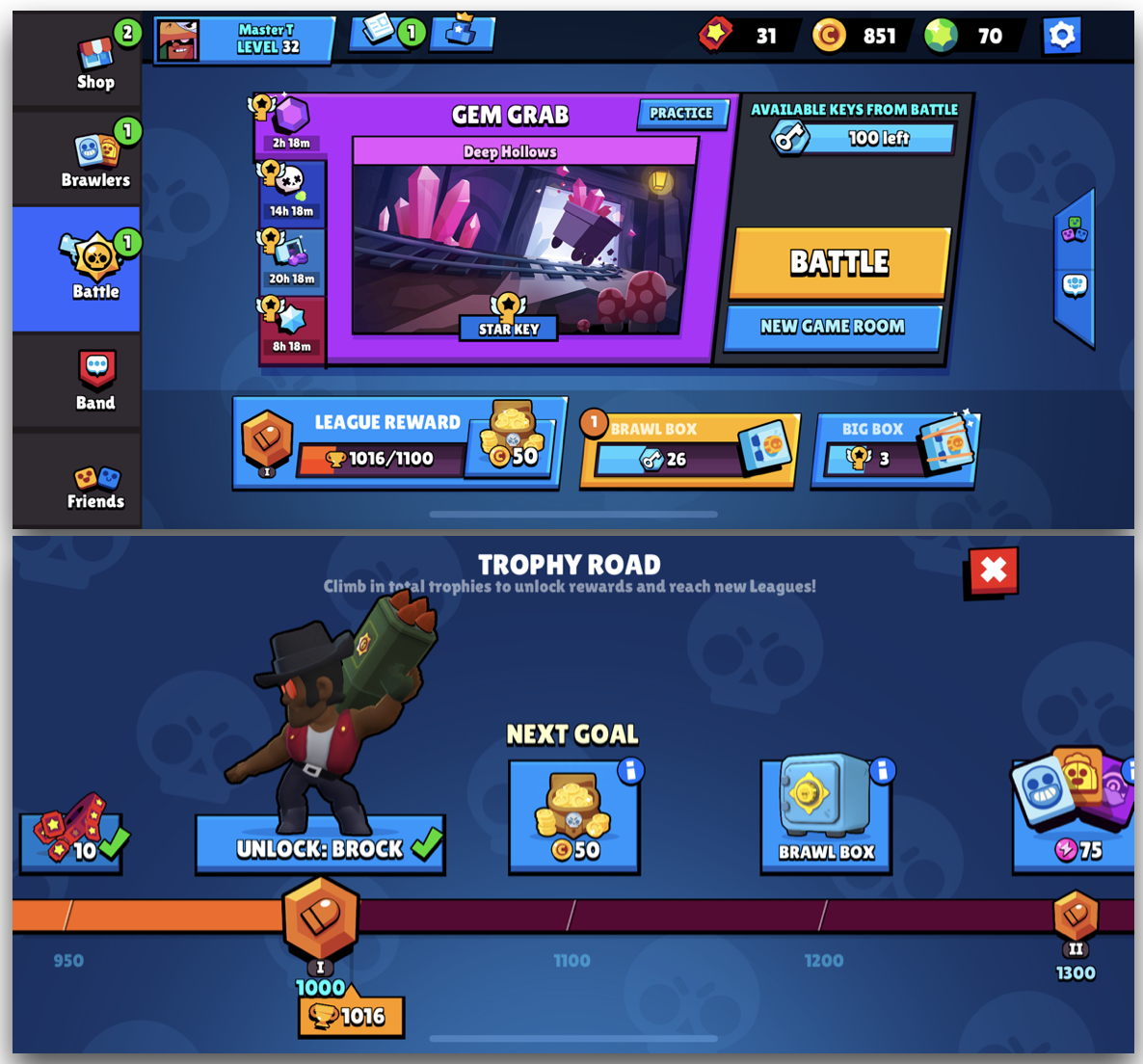 With the last update,the amazing UI and UX of Brawl Stars got even better. And the Trophy League system offered much needed reason to grind for the Trophies.