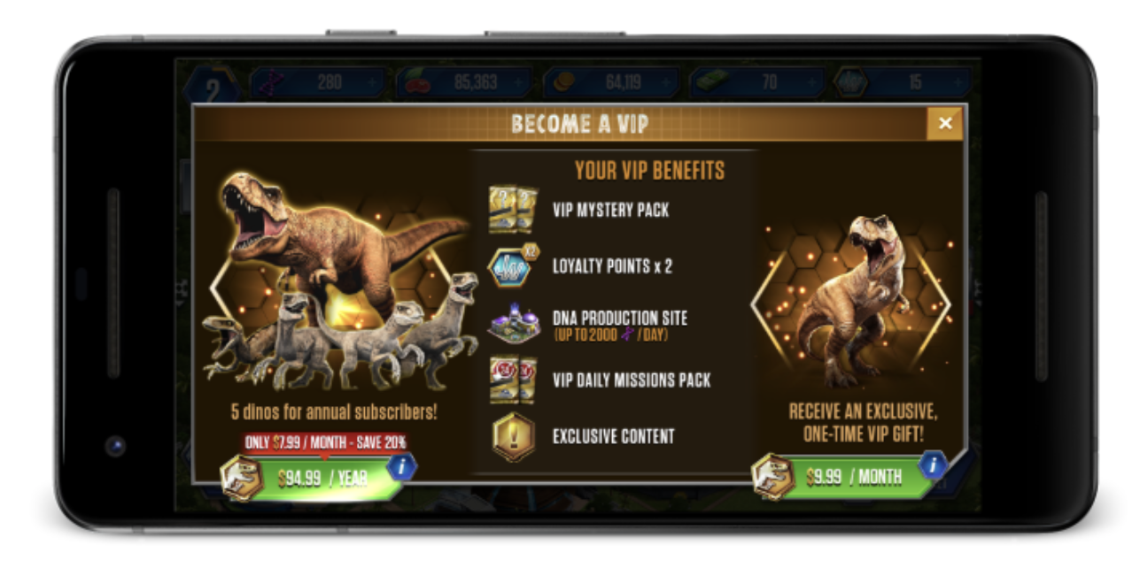 VIPs are the core of virtually any social game's success. Encouraging players to become VIPs and retaining them us such should be the focus of a game team.