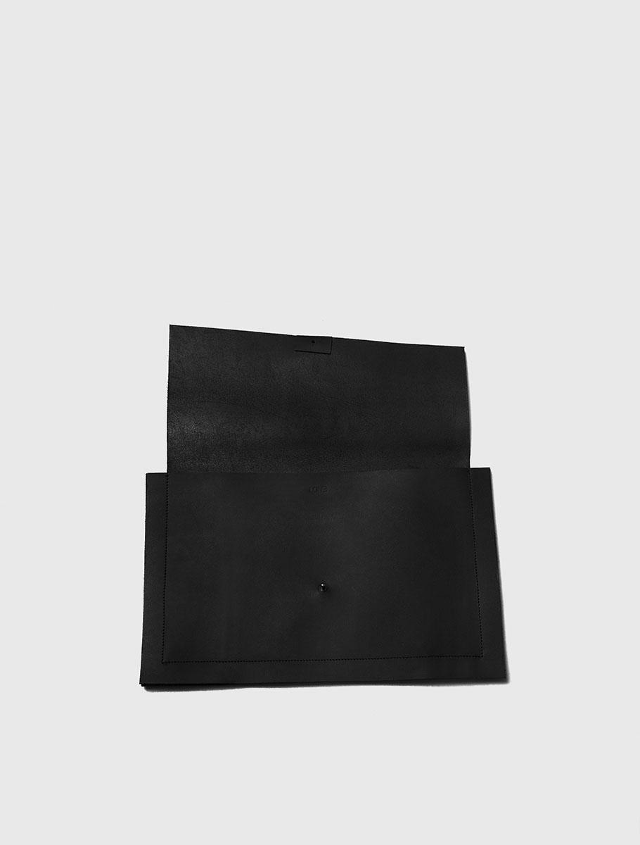 Leather Clutch Bag open.jpg