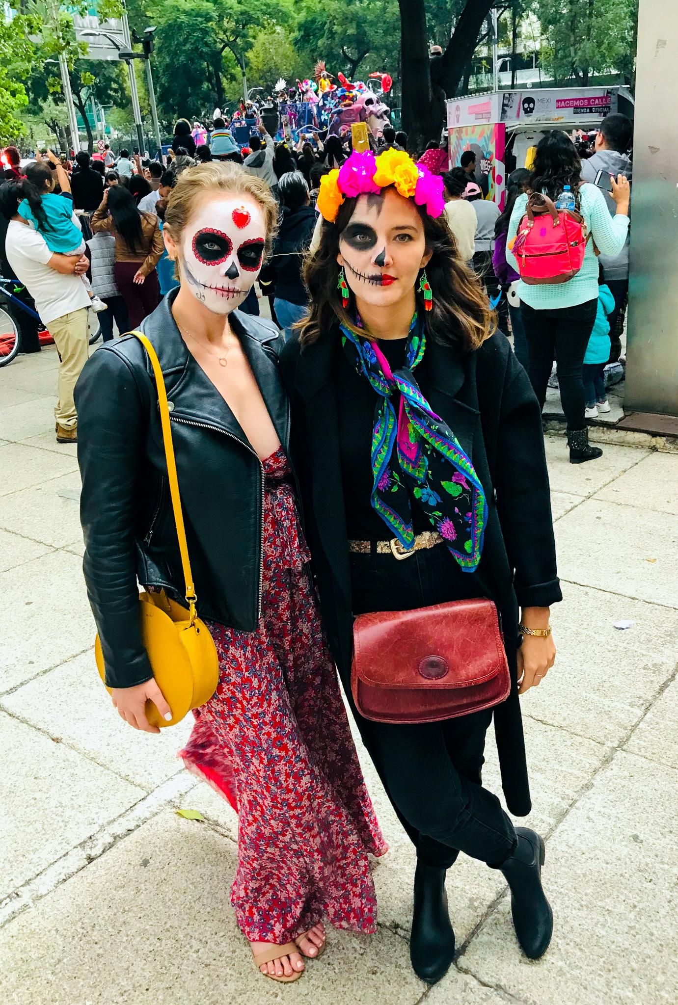 Dia de los Muertos parade Mexico City