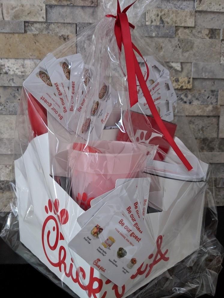 Chick-fil-A Gift basket