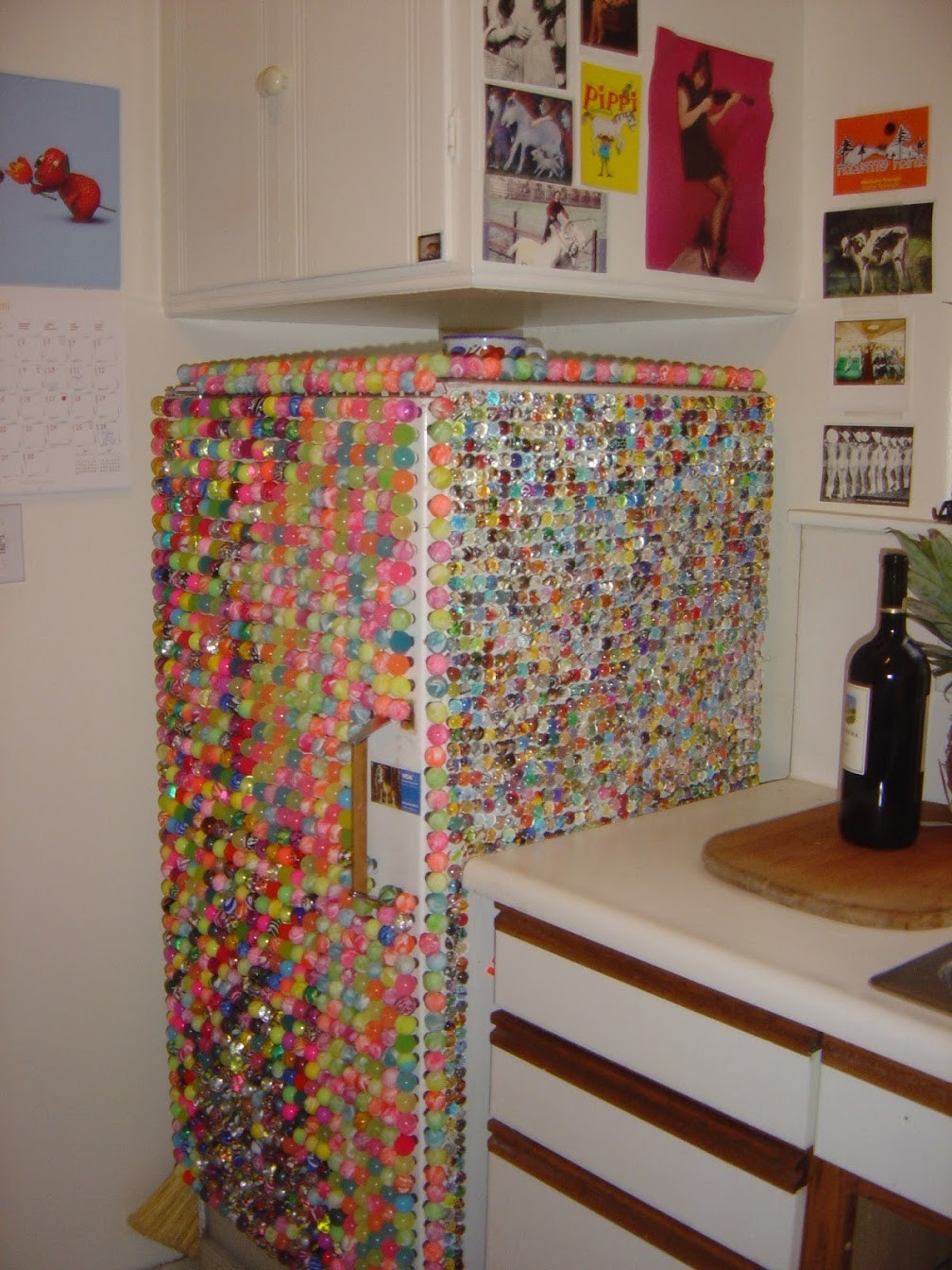 The Superball Fridge in 2002.