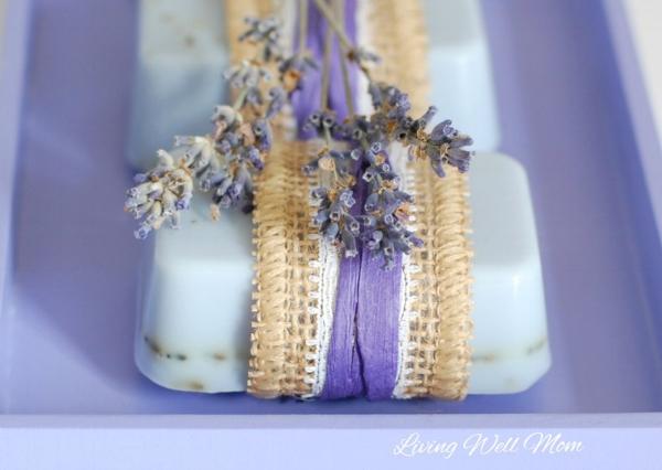 DIY gifts for mom: Lavender Goat Milk Soap