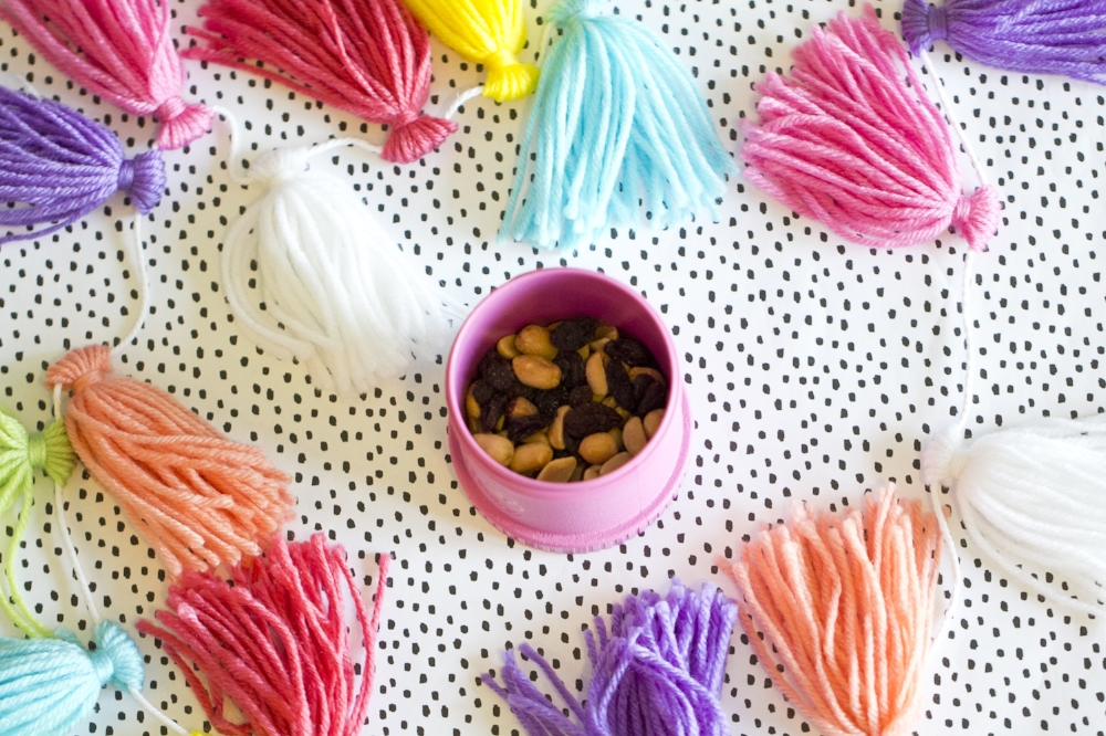 Healthy Kids Snack Ideas - Peanuts & Raisins