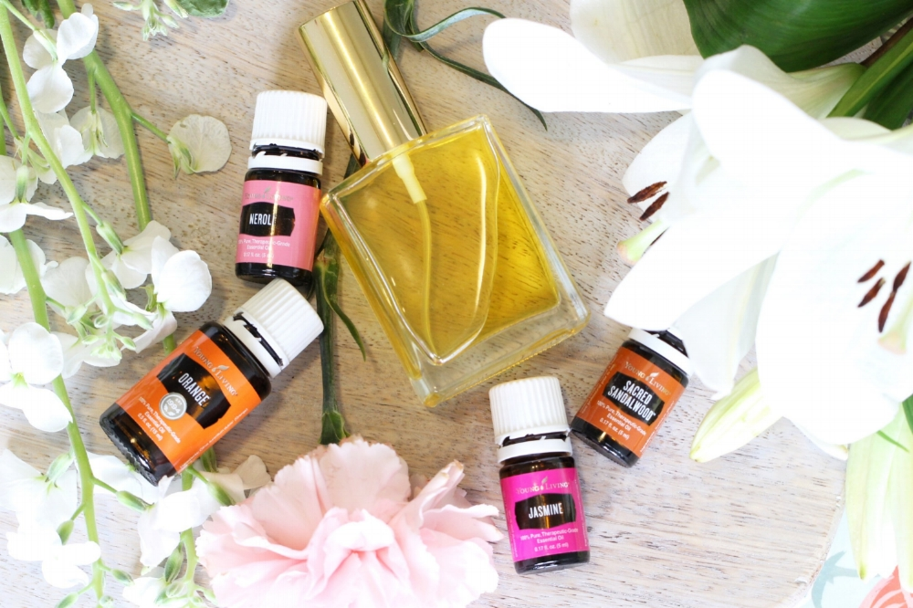 How To Make DIY Perfume using Essential Oils, Bloom Is The Essence Of Springtime Bottled, Filled With An Uplifting, Floral Fragrance