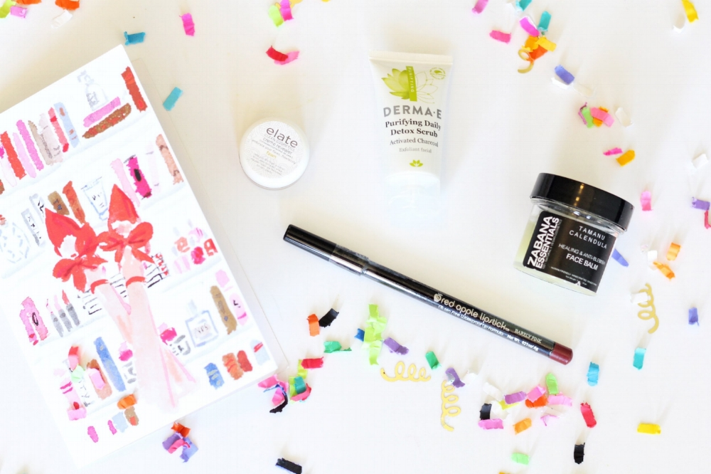 Beauty Box Review - Non toxic, Cruelty Free, Plant Based Beauty Products From Petit Vour