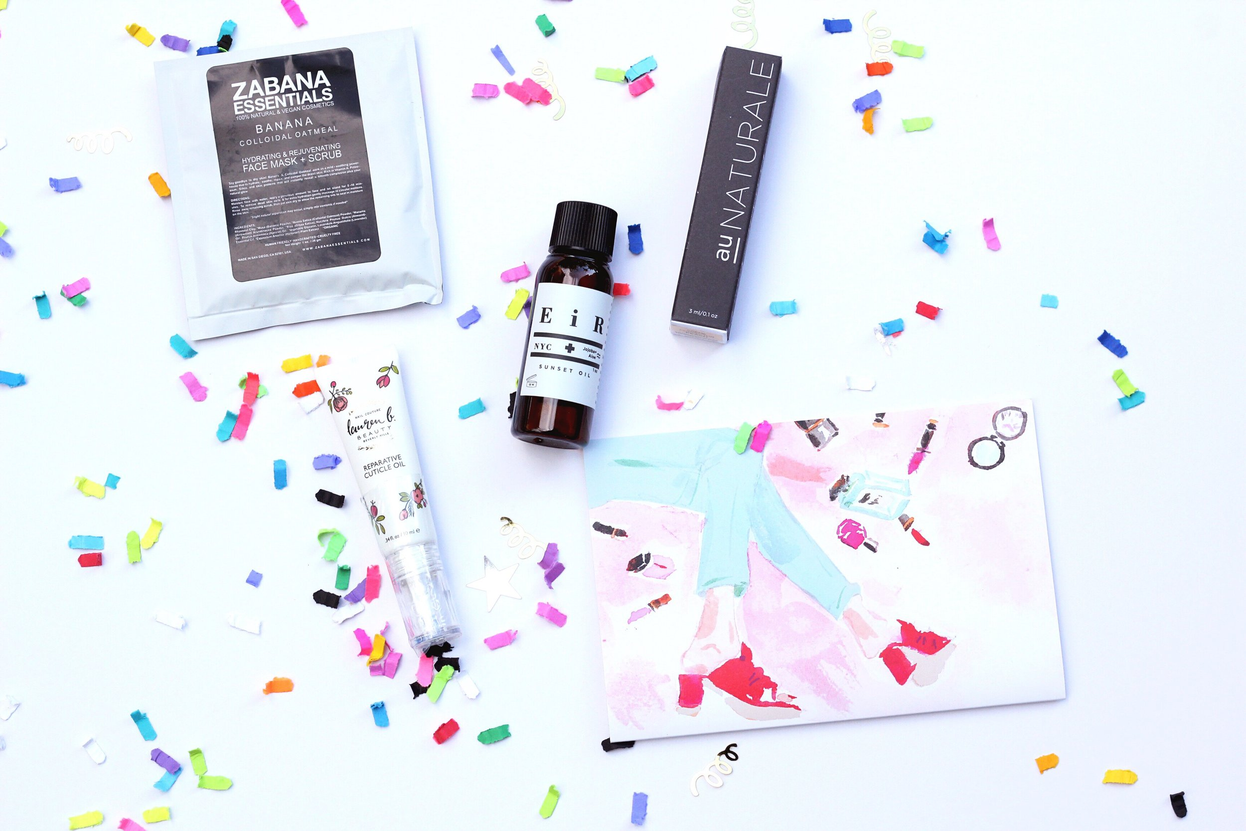 The cruelty free and non toxic beauty one stop shop - Petit Vour - has released their May Beauty Box and it's a great one!