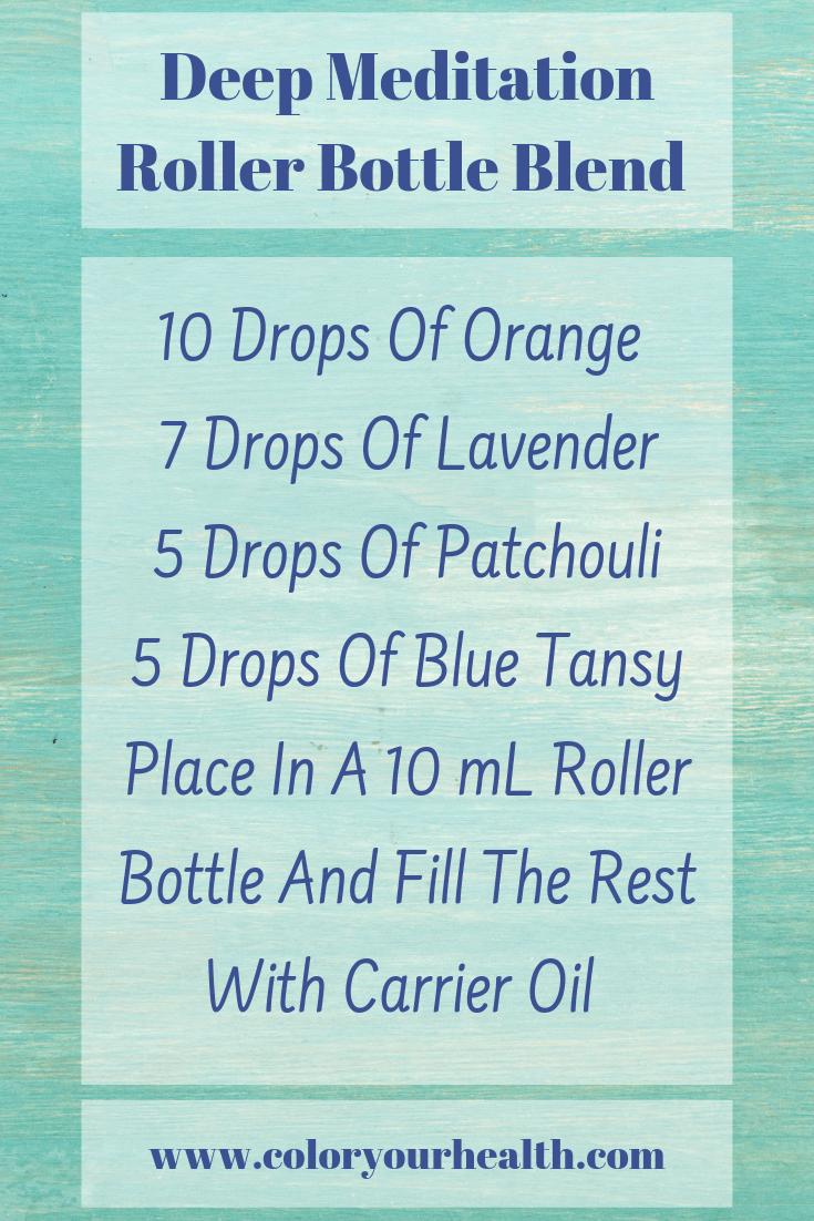 Essential Oil Roller Ball Blends
