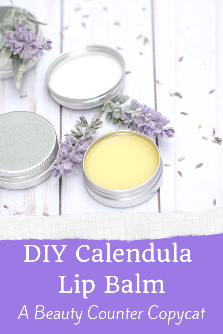 I love Beauty Counter products but they can certainly be expensive! This DIY is a copycat for the Calendula Lip Conditioner made by Beauty Counter. It contains shea butter in the recipe for ultimate moisture and calendula for soothing chapped lips!