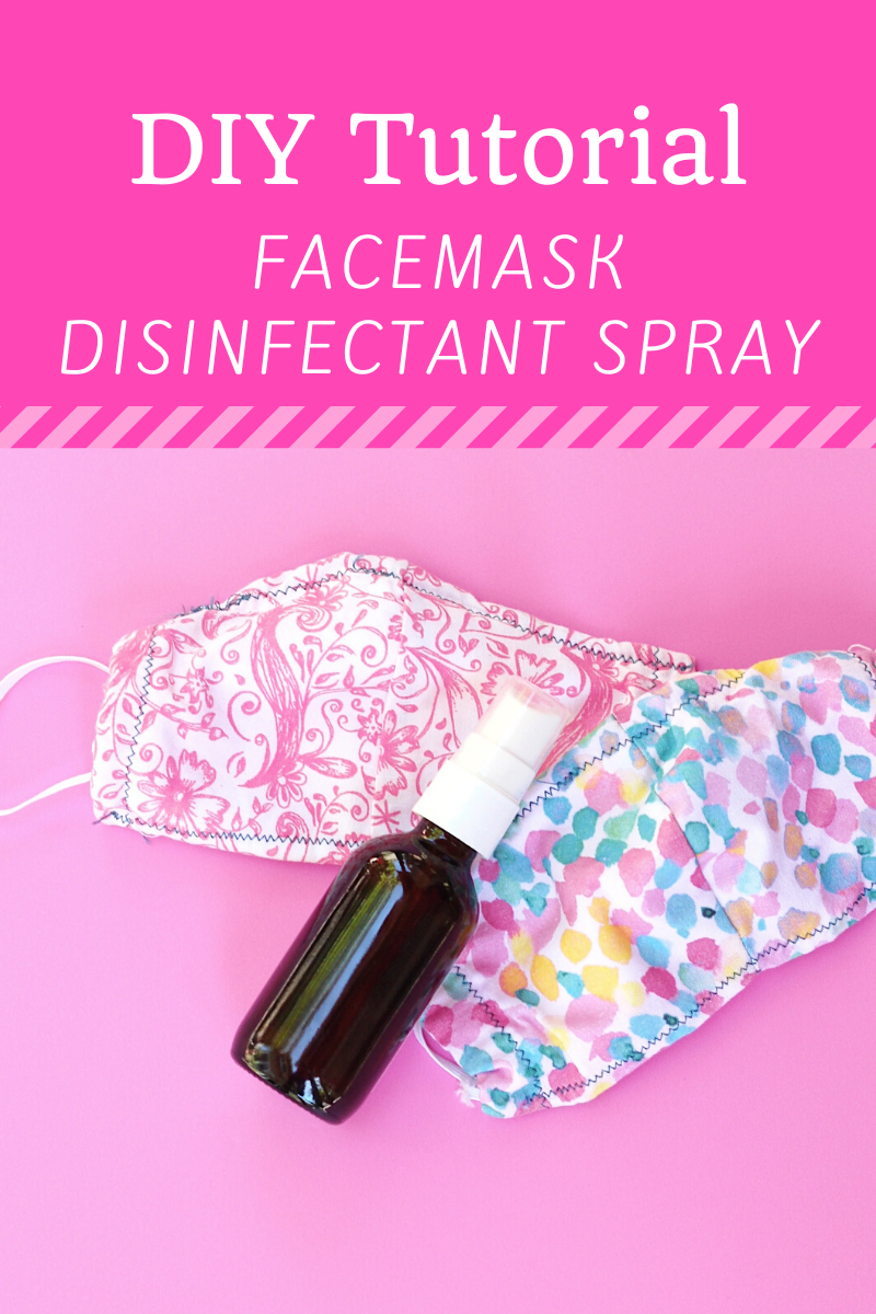 Diy Face Mask Disinfectant Spray Tutorial 5 Simple Scent Combinations