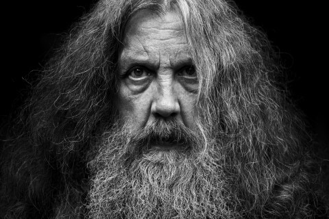 Alan  Moore, author of Jerusalem