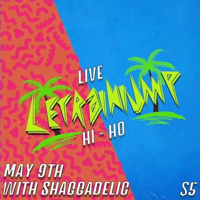 🌴 T O M O R R O W  N I G H T 🏄🏾♂️ Come see me with @shaggadelic504 LIVE at Hi-Ho! I've also got BRAND NEW shirts 👕 for PRE-ORDER only. Order today and have it available for pickup at the show tomorrow! DM for details and see you there! 🤙🏾 —— TODAY! Stream all my music and let's get ready for the party tomorrow [LINK IN BIO]🌴