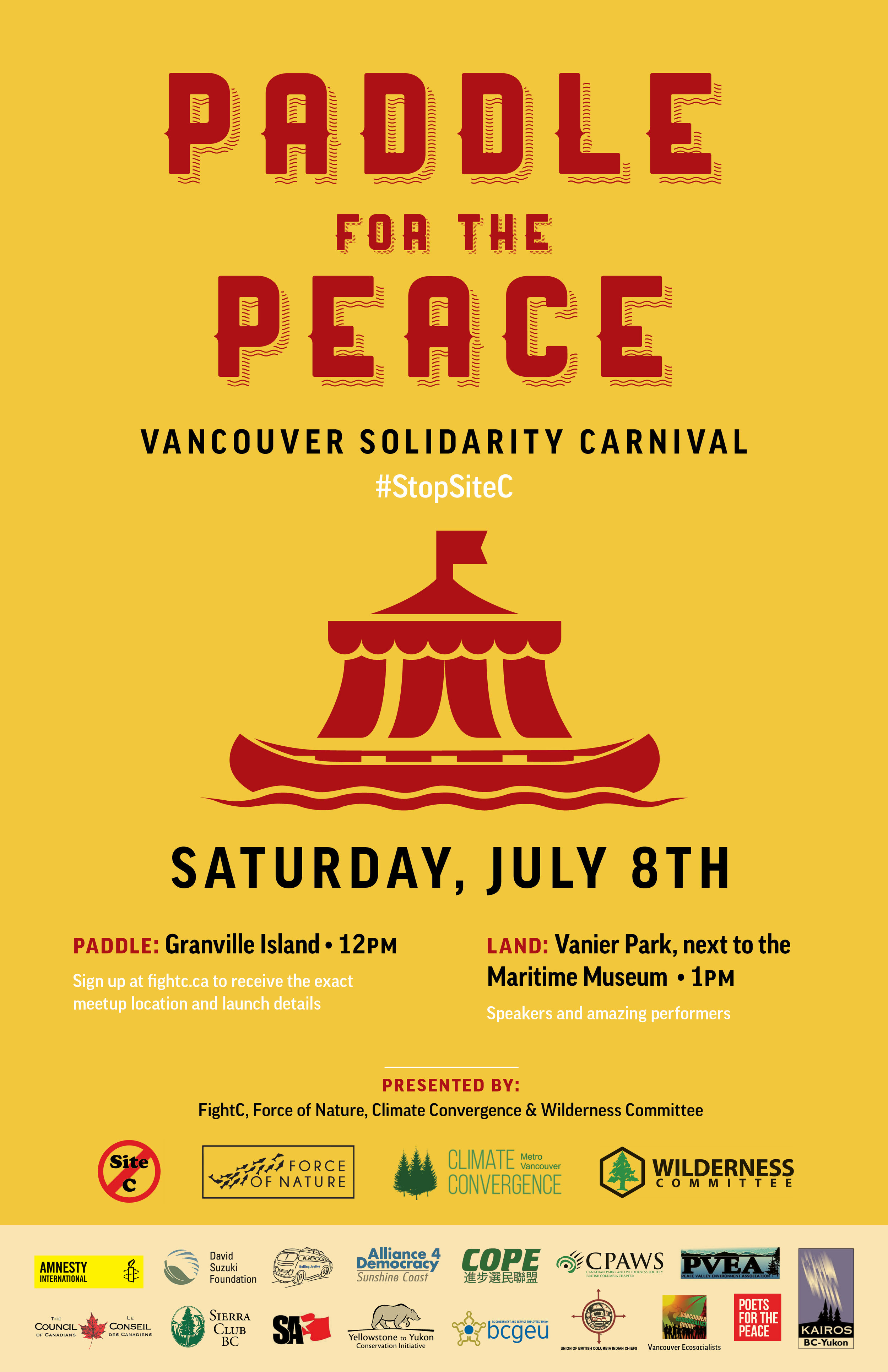 Paddle for the Peace