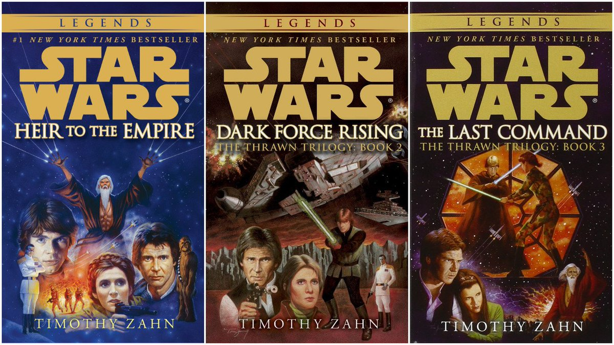 THE THRAWN TRILOGY - RE-RELEASED UNDER THE LEGENDS BANNER