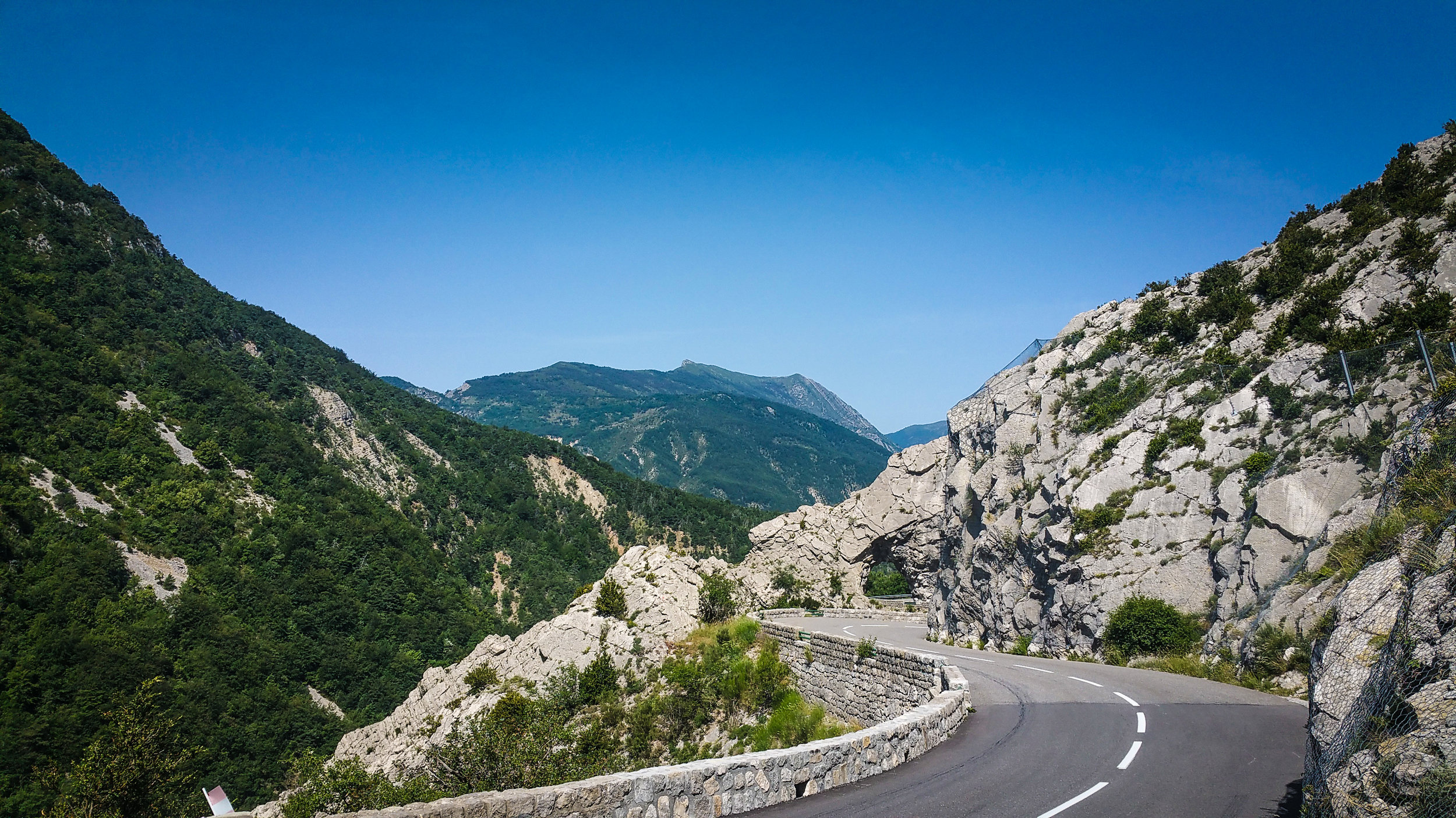 Route Napoleon, just inland from the beautiful Côte d'Azur. Picture: Ben Lindley