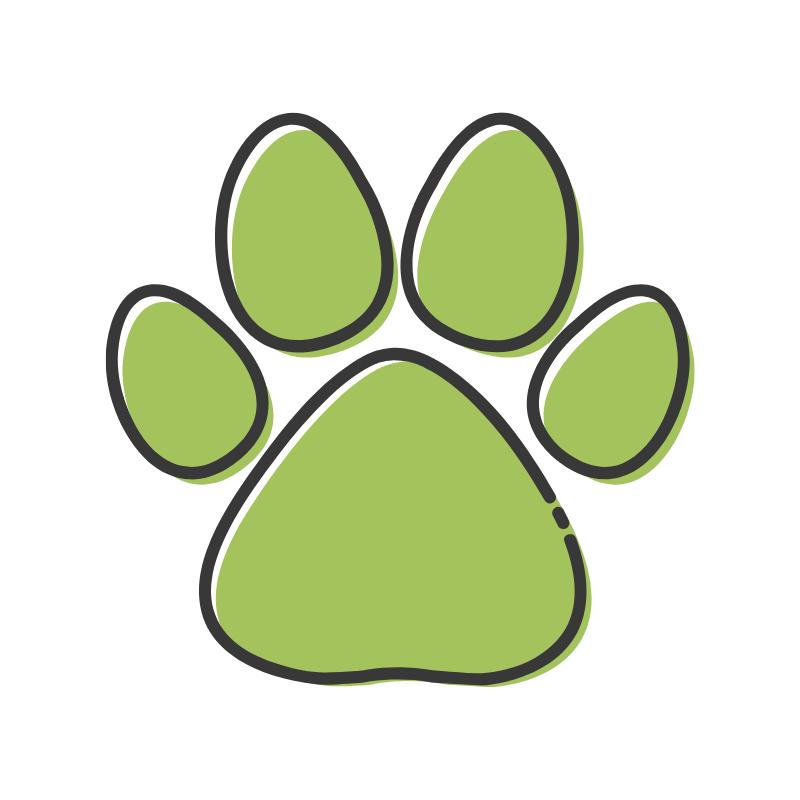 paw-print-green