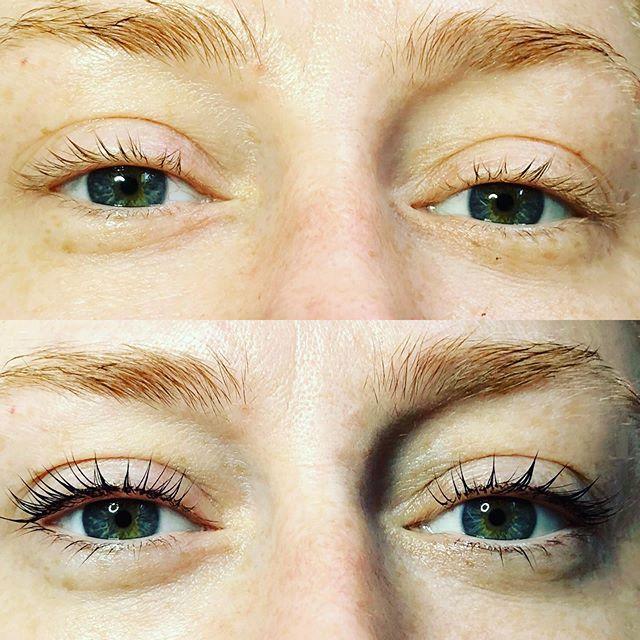 All about that #lashlift and #lashtint Just ask @mollygreenwald all about it  #ellebanalashlift  Who's up next?? #beverlyhills #makeup #makeupartist #lashperm