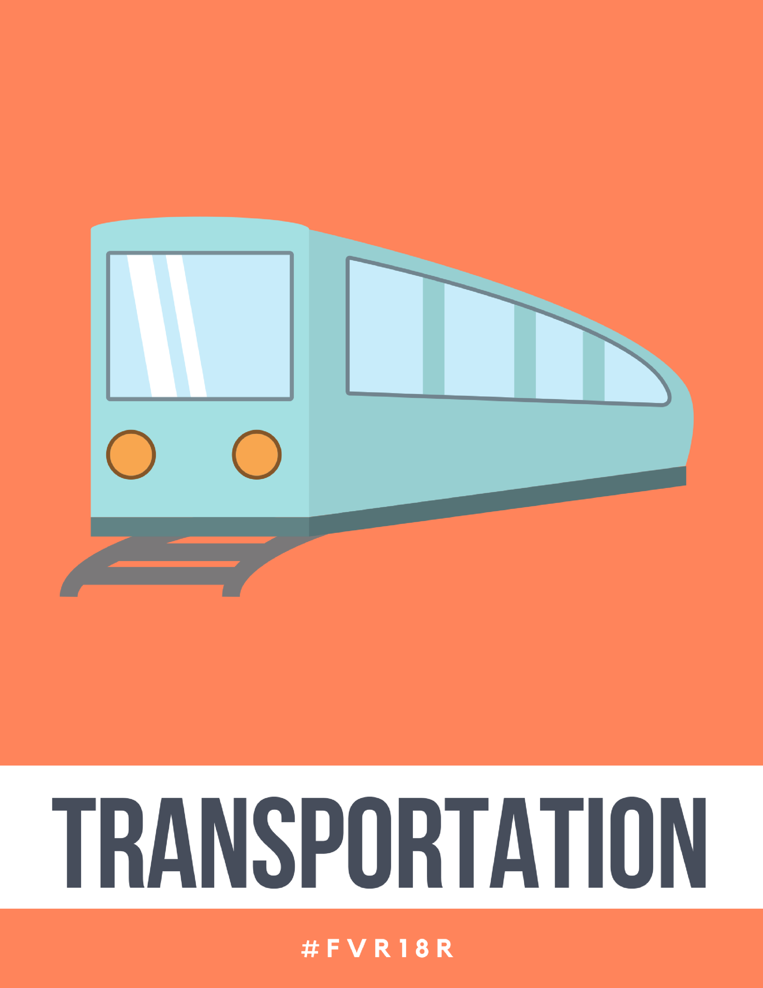 K-2 Library Signage, Transportation
