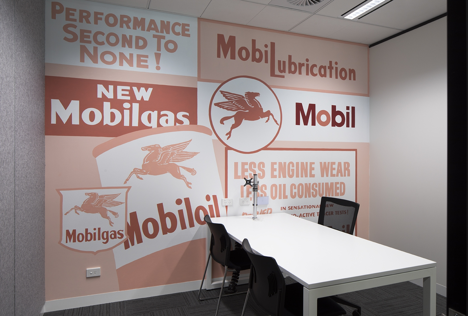 The Mobil meeting room