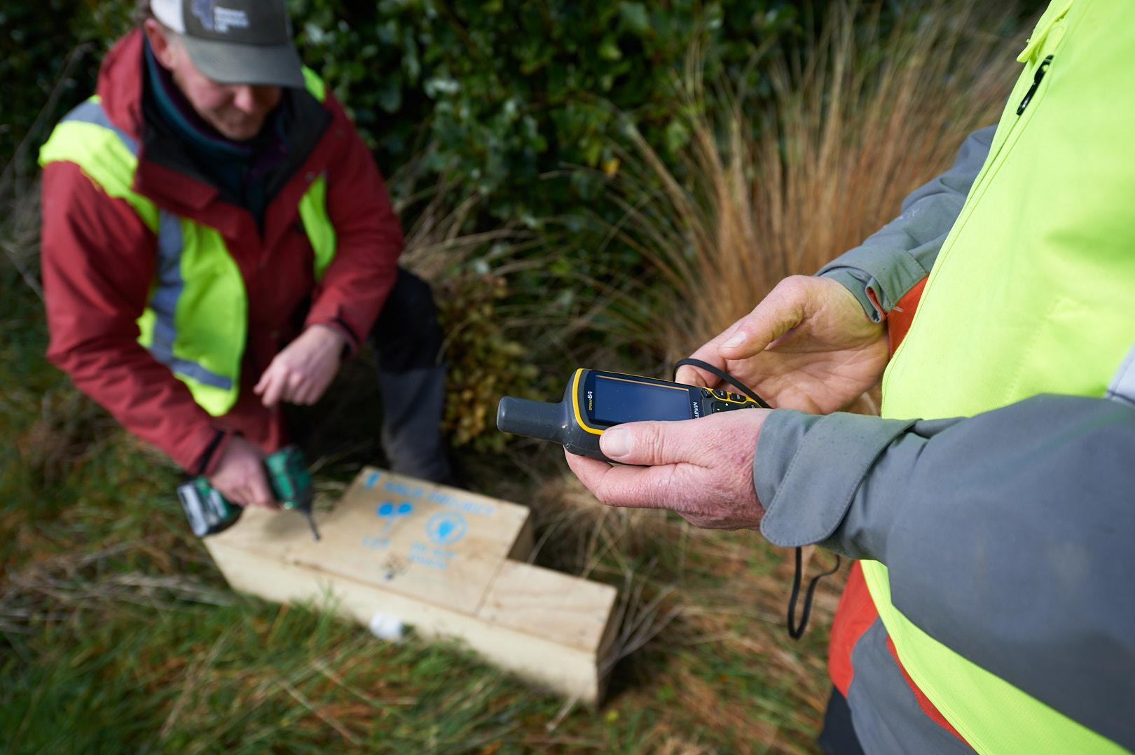 GPS locating traps