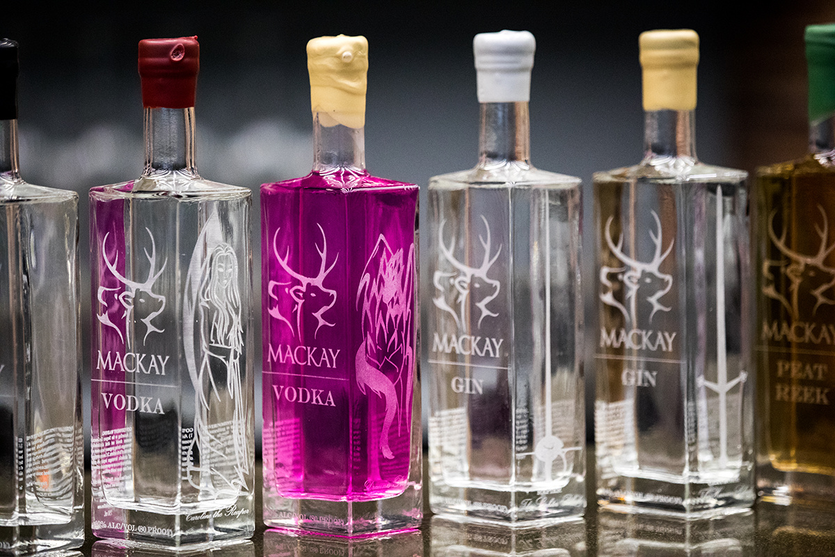 MACKAY - Mackay spirits exemplify premium craft. Small batch, bold and unique.Local mountain spring water is used to finish the smooth clean taste of our spirits.