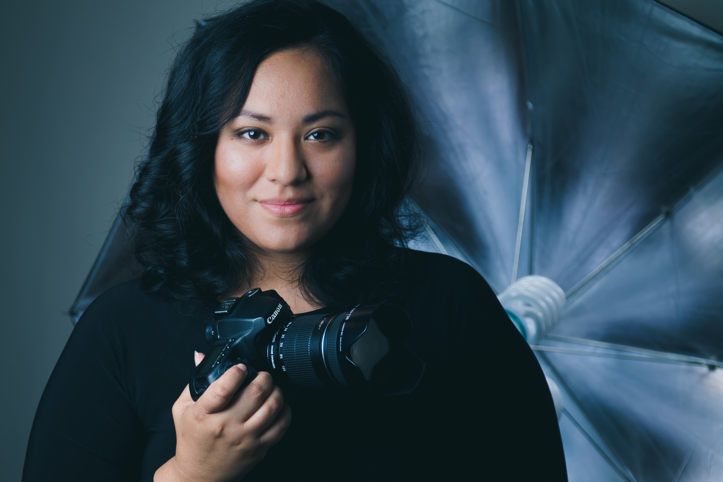 """The Photographer - Award winning portrait photographer Carol Lara has risen to the top of her industry. Based in St. Louis, her portraits have won Best of Show in the show: Life in Motion at Manchester Arts, The Award of Excellence for the show: Driven to Abstraction at Soulard Art Gallery, Visitors Choice at The Old Orchard Art Gallery in Webster Groves and 2nd Place in the FOCUS Photography Exhibition. Her fine art portraits have also been sold all around the city to fine art collectors that appreciate her self-described style of """"Grace and Grit"""". A multi-passionate entrepreneur, she believes strongly that people should live their most creative life. She has been featured in St. Louis Magazine, Fox 2 in the morning, was nominated as Emerging Business of the Year at the Adelante Awards 2016, a featured speaker at """"The Art of a Woman"""" at the International Photography Hall of Fame in 2017, featured in En Contacto Magazine for her passion & ability to inspire and was a featured speaker for the STL Young Women's Conference in March 2018.Carol specializes in solo portraits such as Beauty, Boudoir, Maternity, Artistic Composites and Headshots. Creating intimate portraits, bringing forth each subject's authenticity is where she shines.Her clients describe it best, saying her work leaves them feeling"""