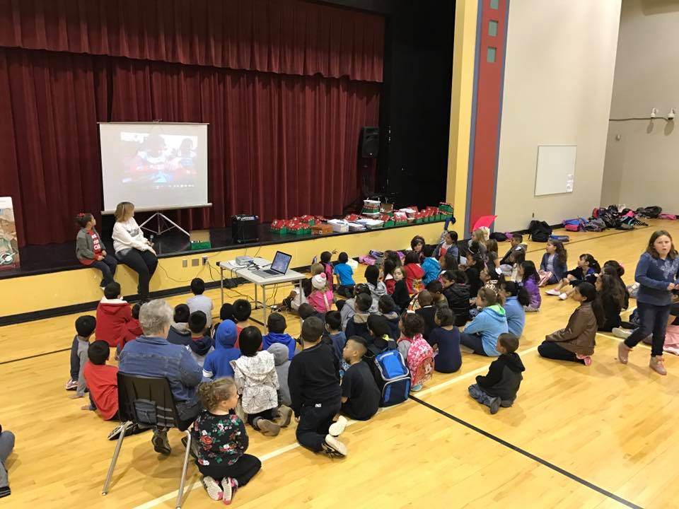 Kids for Christ -  We hold weekly Bible studies for two different Bible clubs in the Tulsa Oklahoma area. These clubs are held in public elementary schools. We meet before school with an average of 140 kids attending each week.