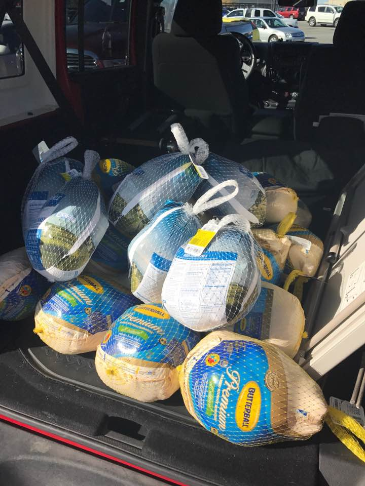 In conjunction with our  K  ids for Christ Bible studies  we have an opportunity to help provide food for some of the underprivileged families that students enrolled in the same schools we have Bible studies in.  During Christmas 2016 we provide 26 turkeys for the underprivileged families in one of the schools.  This spring we are looking to give away hamburger meat during the spring break. This is a time when kids are home and don't have the benefits of meals at the school.