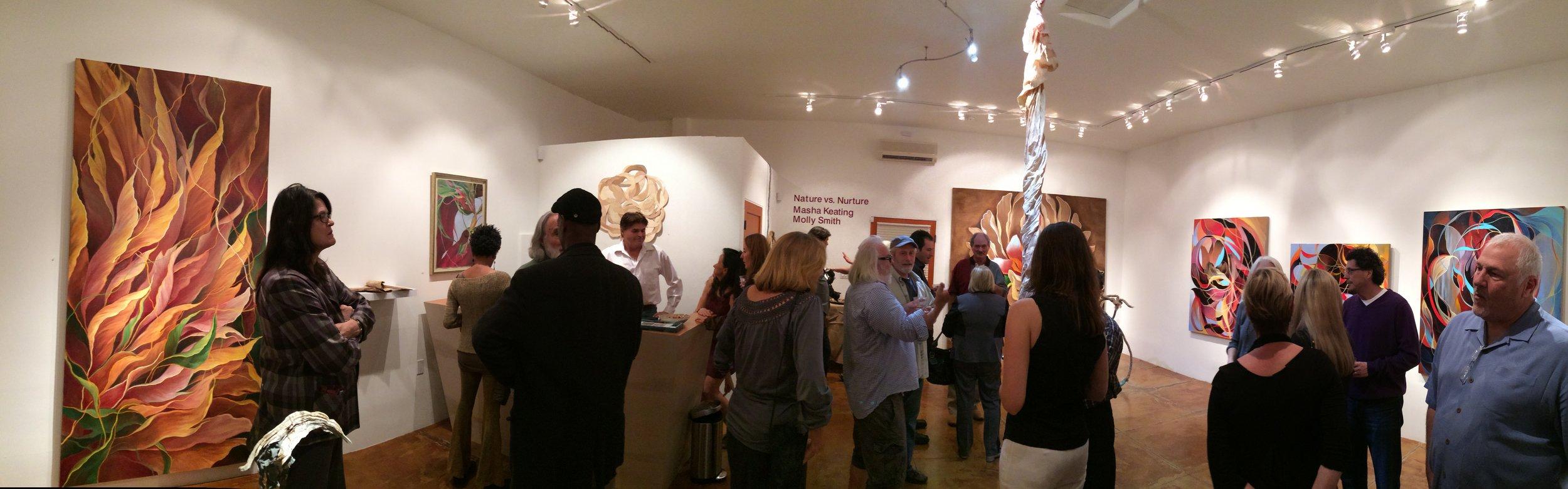 Nature vs. Nurture, Galerie 102, Ojai, CA, 2014.