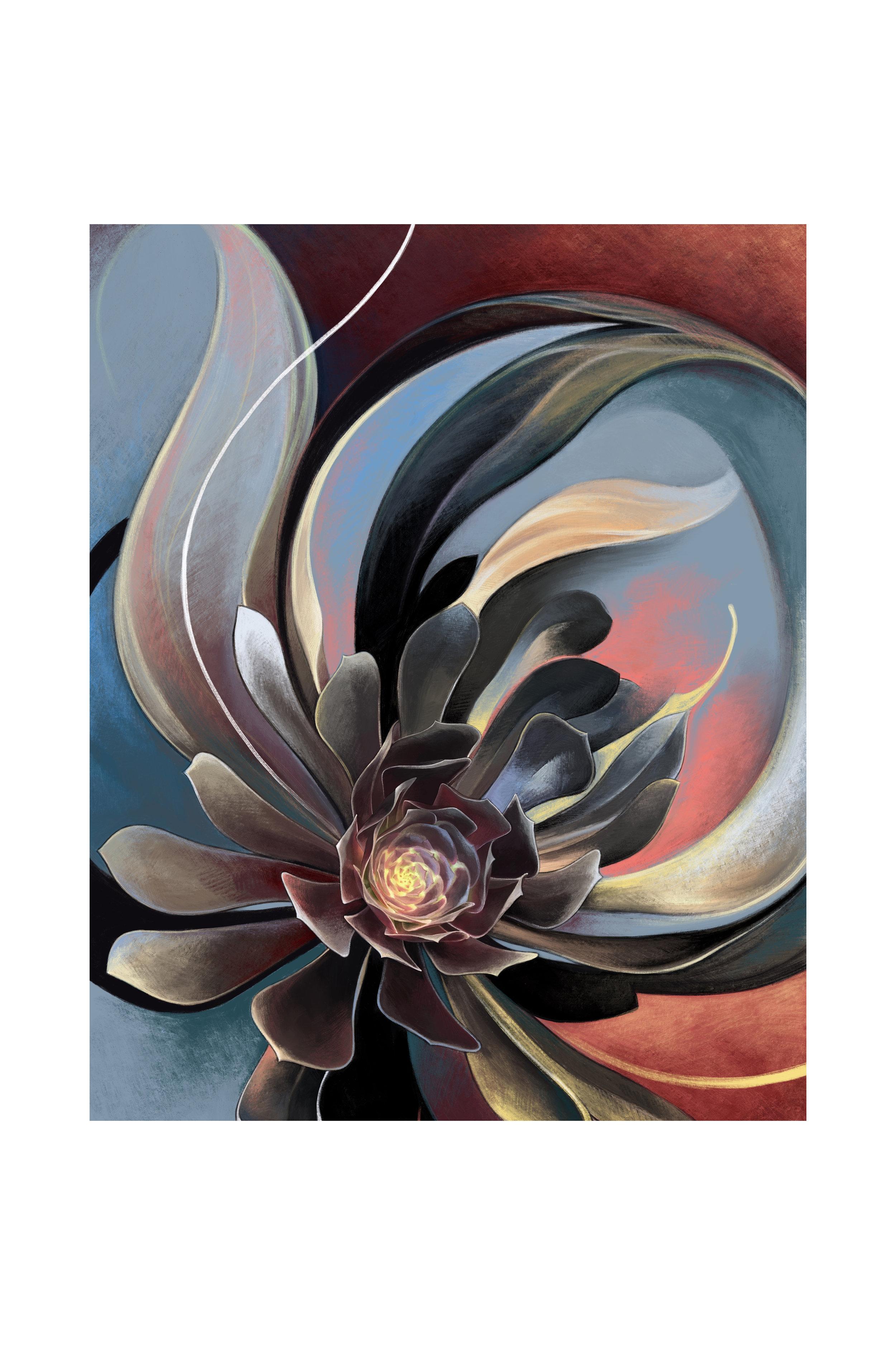 Copy of Black Succulent 2
