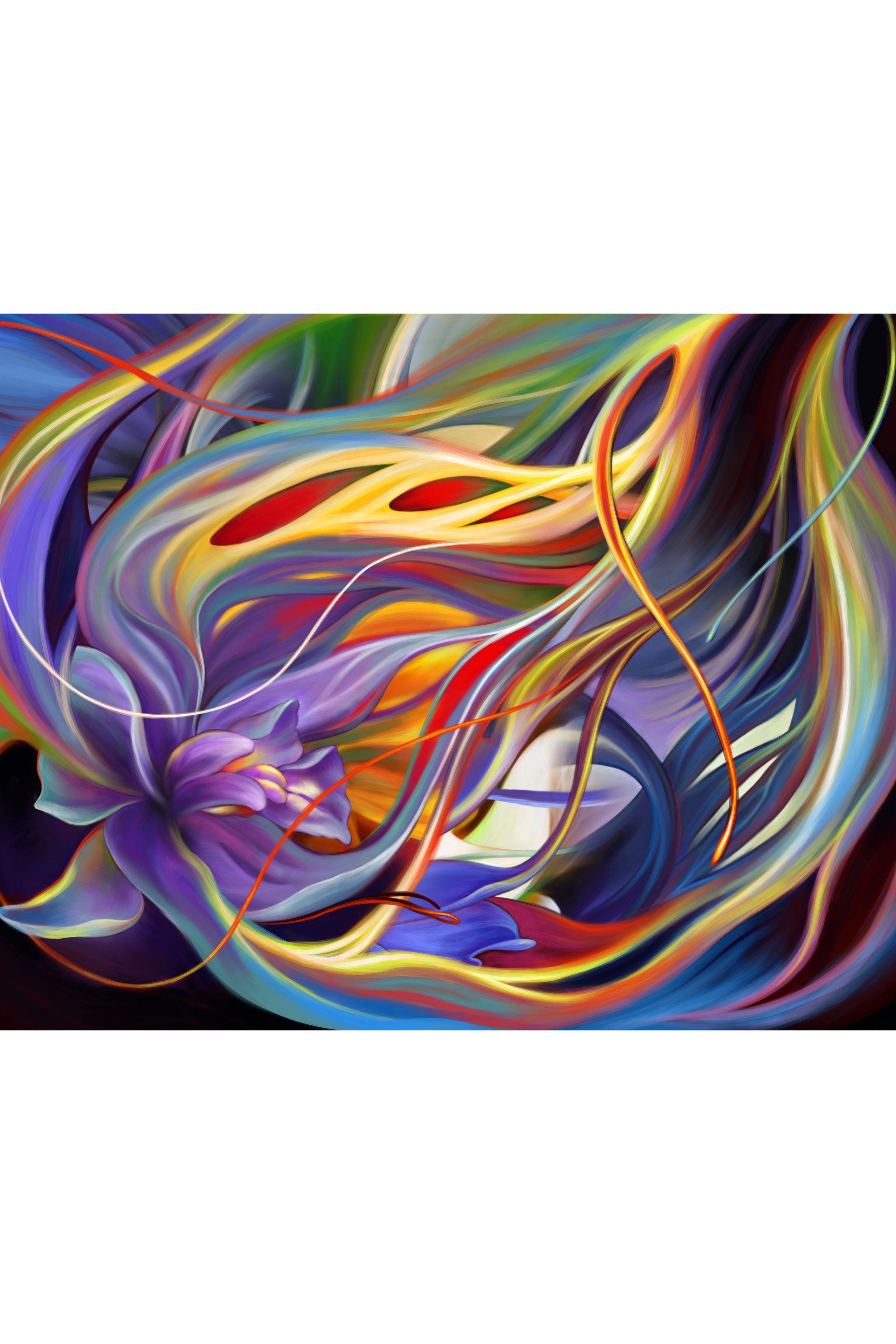 Purple Orchid 3