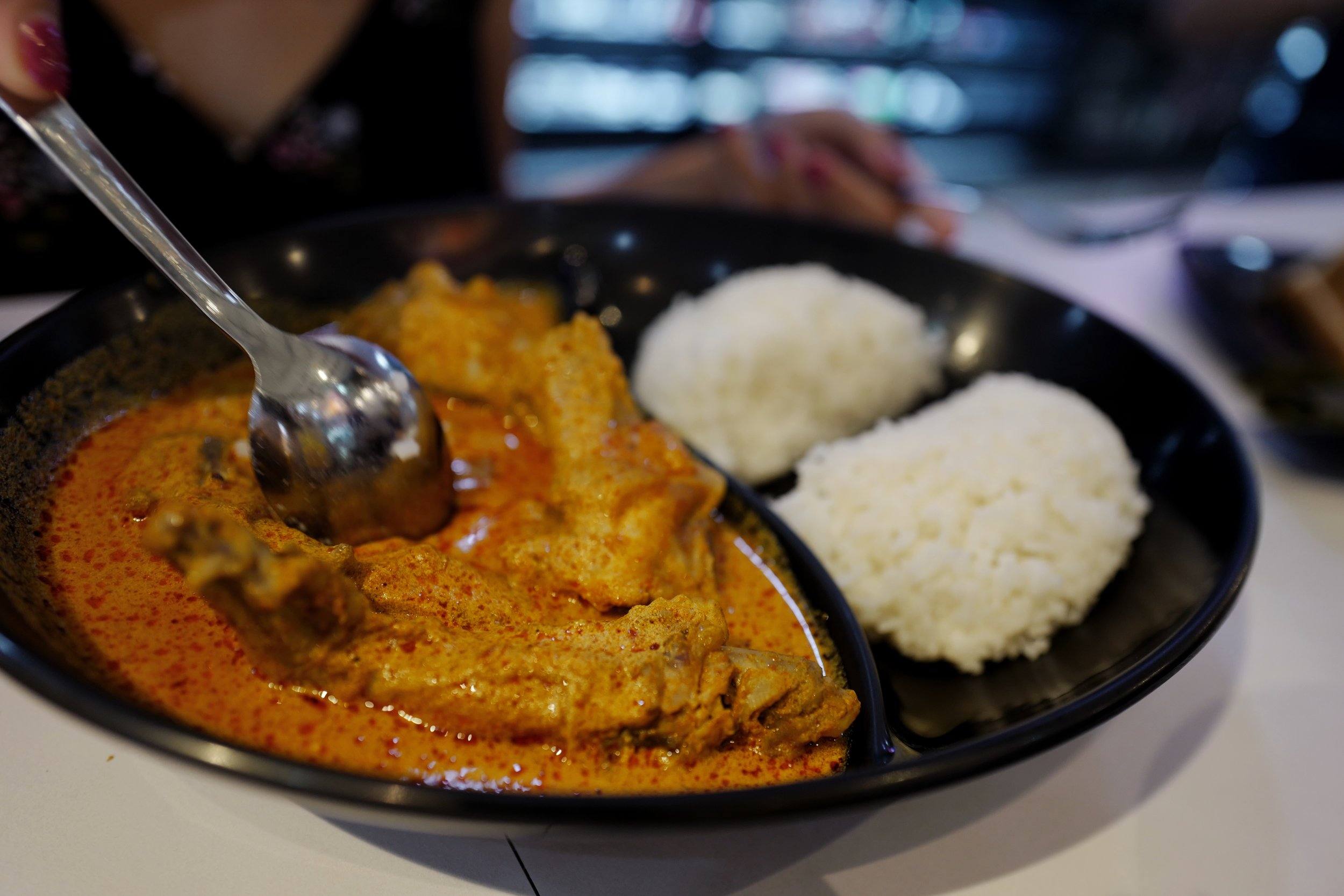 Chicken Curry and Rice at    328 Katong Laksa    (Queensway)