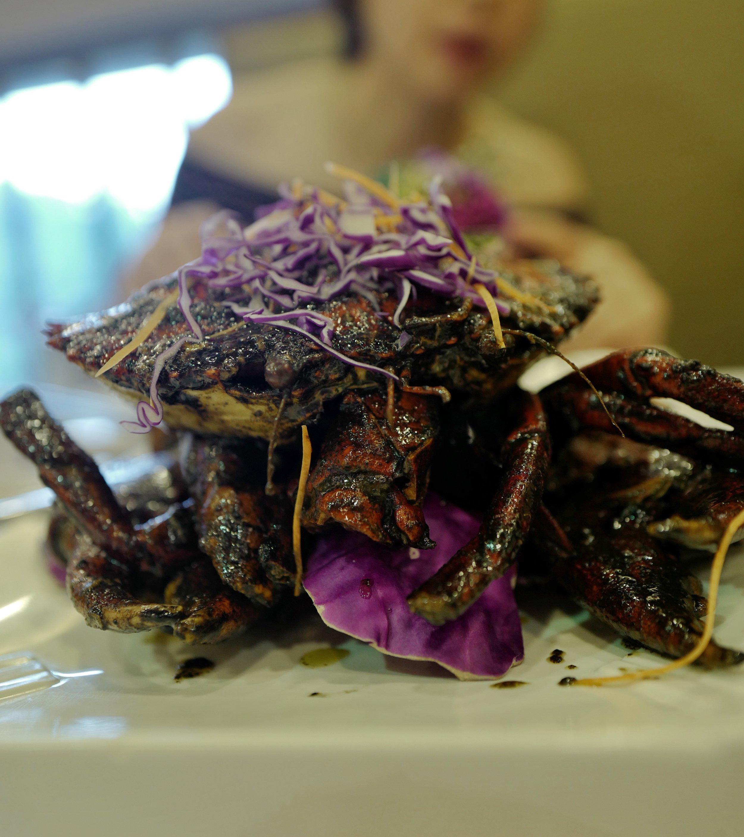 Black Pepper Crab at    Long Beach Seafood    (East Coast)