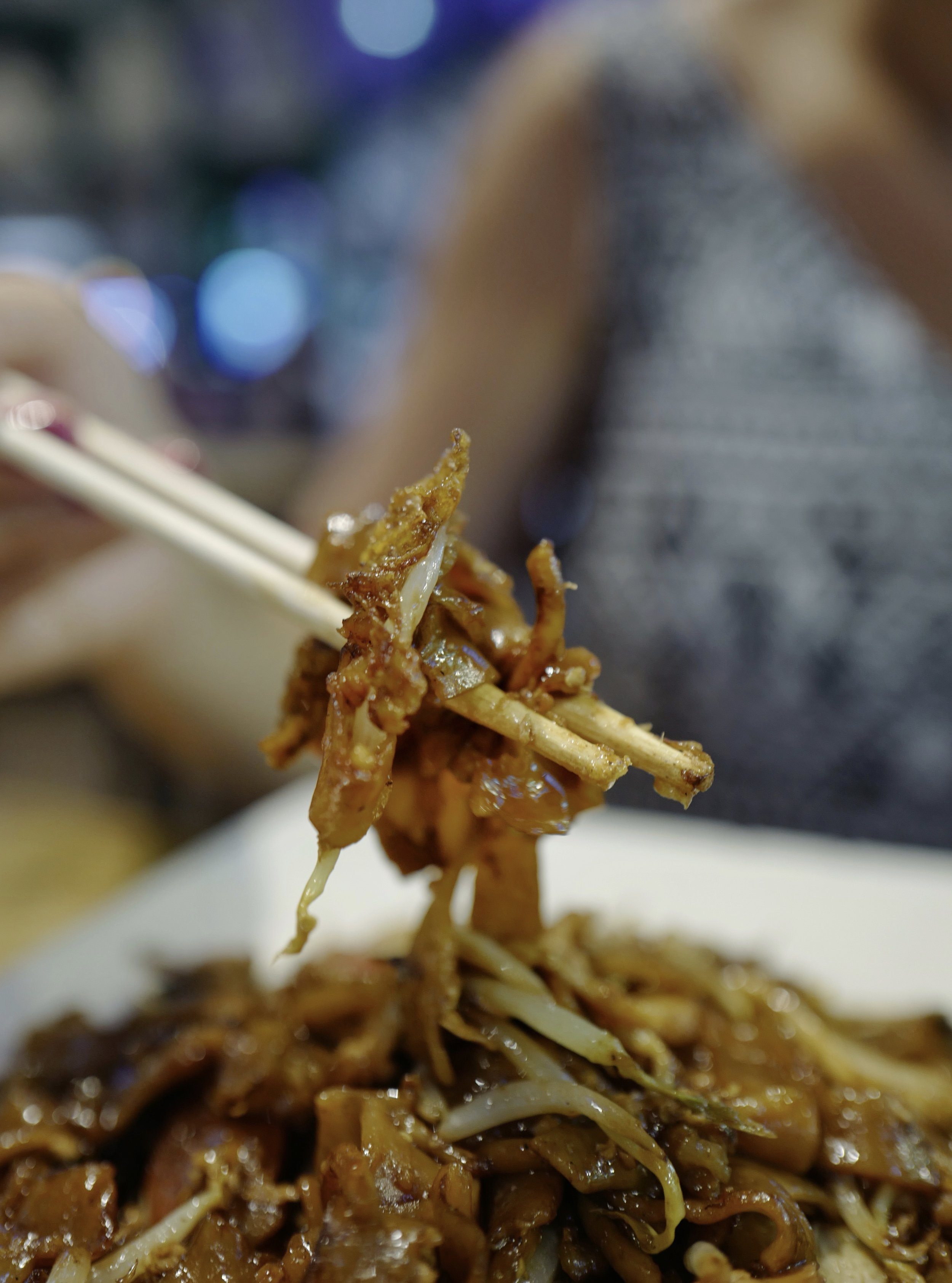 Char Kway Teow at    Lai Heng Fried Kway Teow
