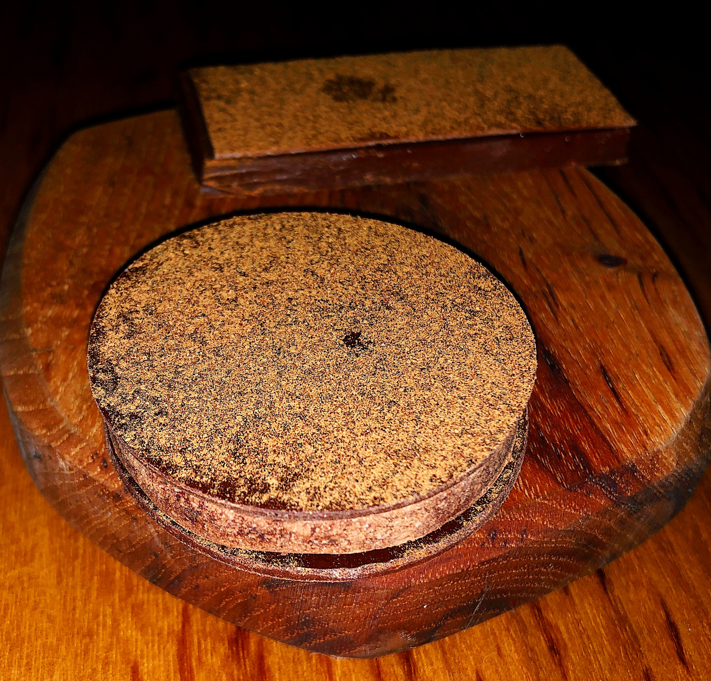 Milk Chocolate, Raspberry Preserves & Shiitake Mushrooms