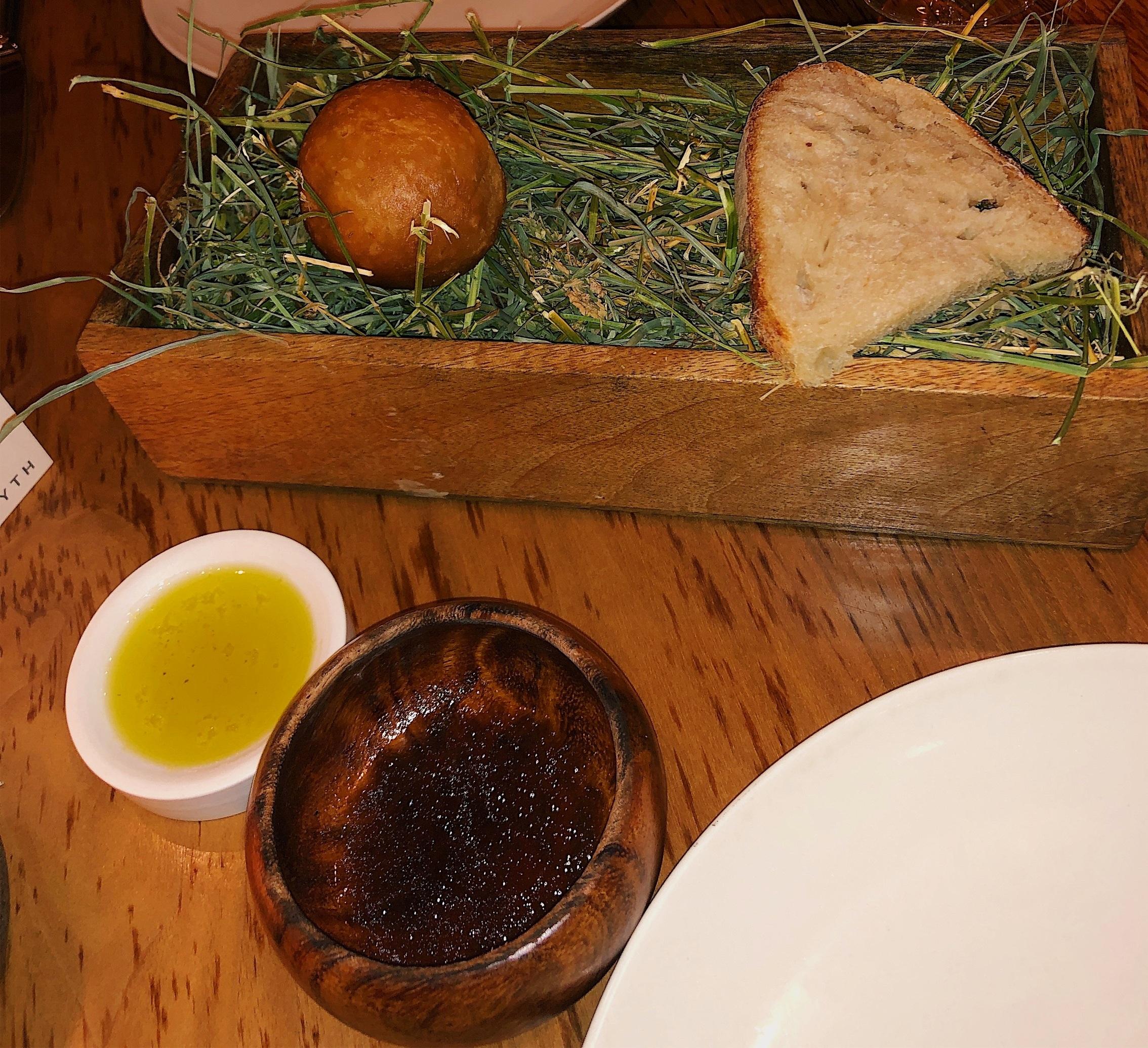 Brioche Doughnut with Aged Beef Aux Jus