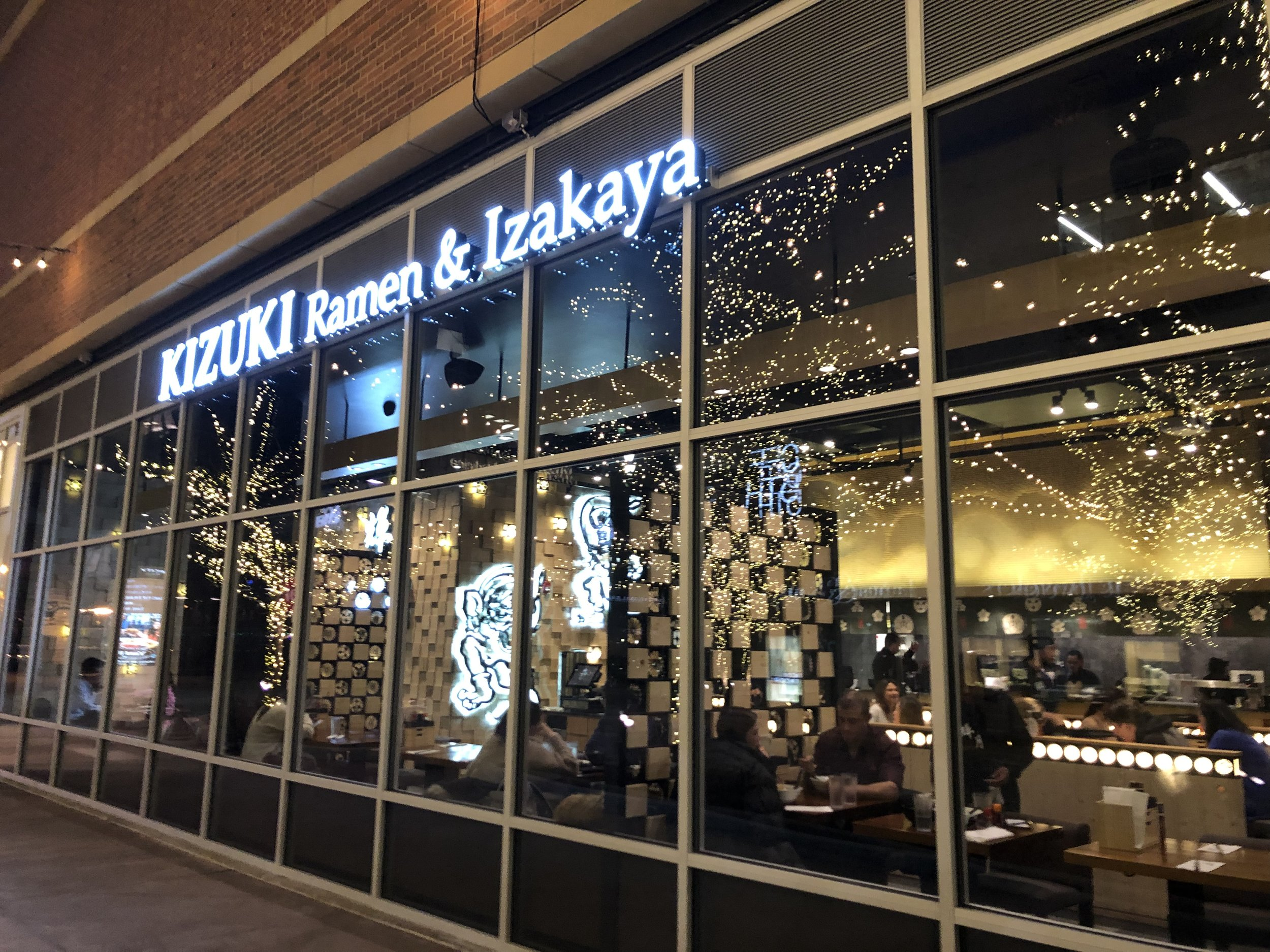 Kizuki Ramen and izakaya at NEWCITY